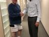 Mike McDonald & Dr Isaacs