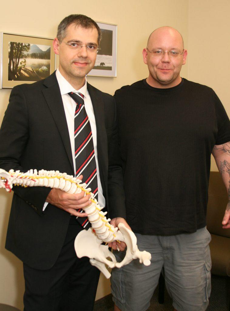 Rayne's Story: A Traumatic Spine Injury