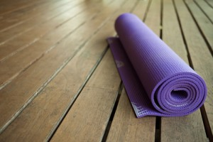 ease low back pain with a yoga ball