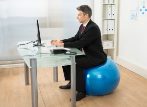 Office Yoga To Ease and Prevent Back Pain