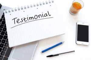 Recent Testimonials — Fall 2016 — Center for Spine and Orthopedics